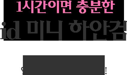 id 미니 하안검