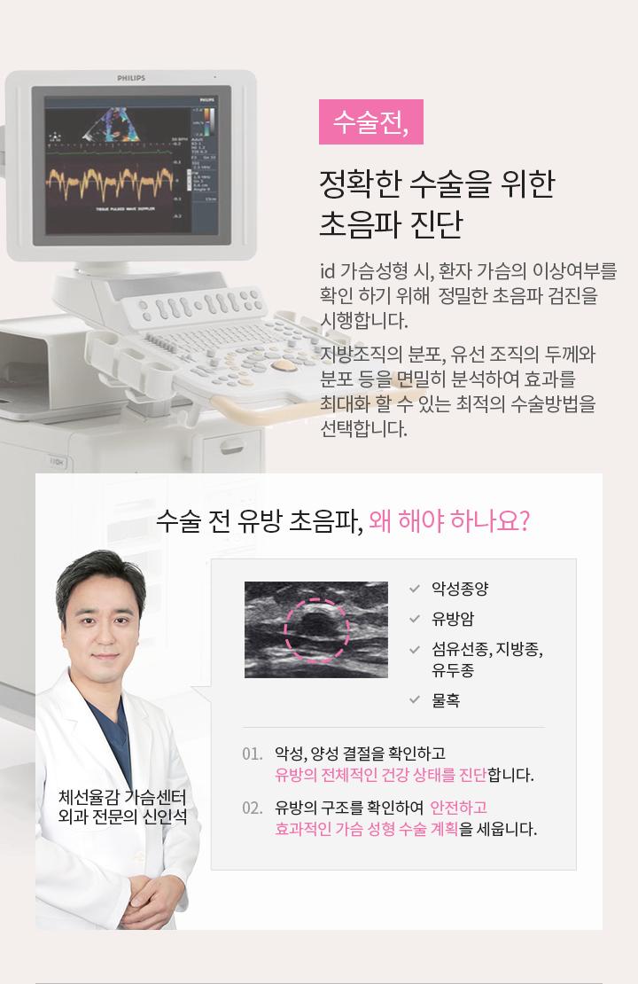 수술전, 정확한 수술을 위한 초음파 진단