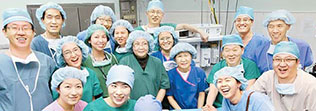 해외 안면기형아동 봉사 활동 참여